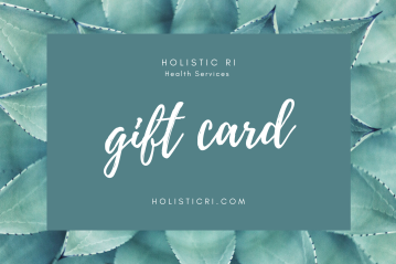 Green Flower Massage Gift Certificate